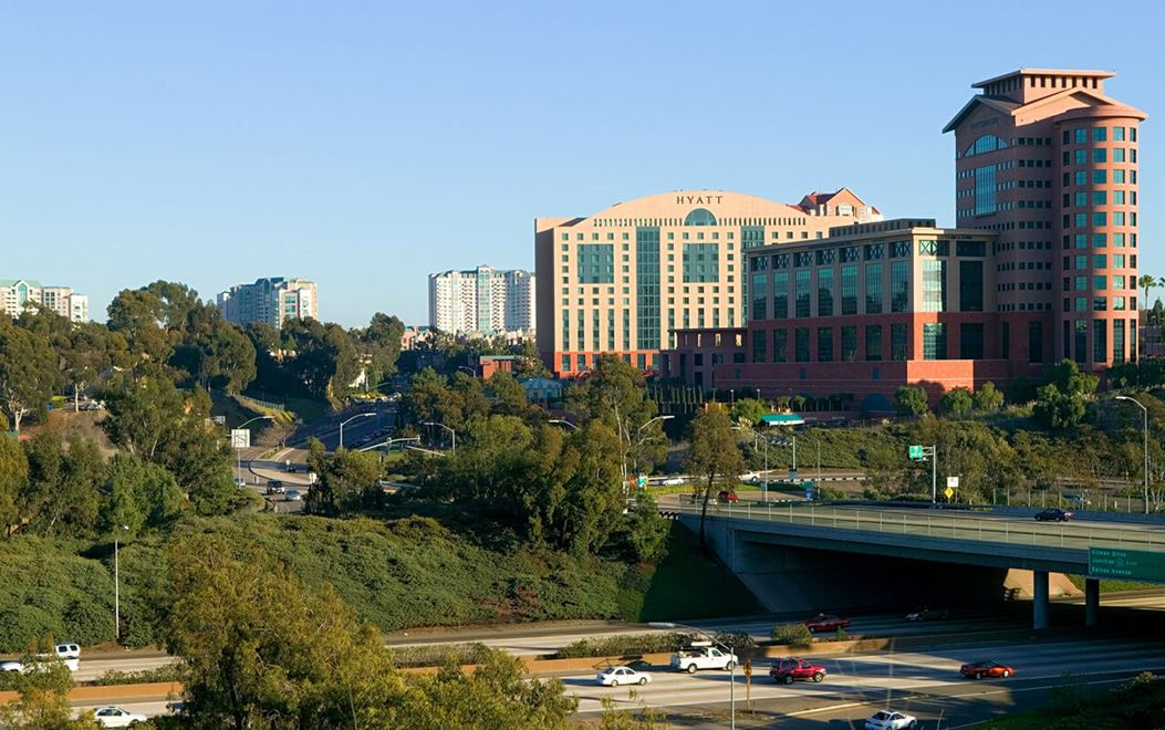 University Towne Center skyline